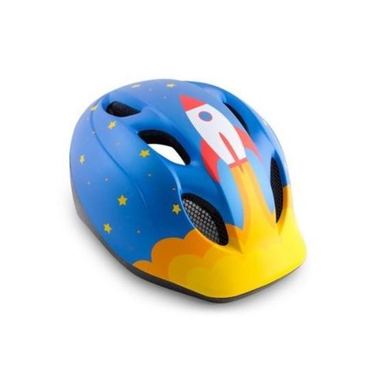 MET helma SUPER BUDDY 2019 dětská raketa/modrá