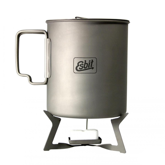 Skládací titanový vařič na pevný líh Esbit ST11.5-TI