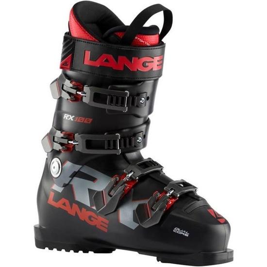 Lyžařské boty Lange RX 100 black/red LBI2100