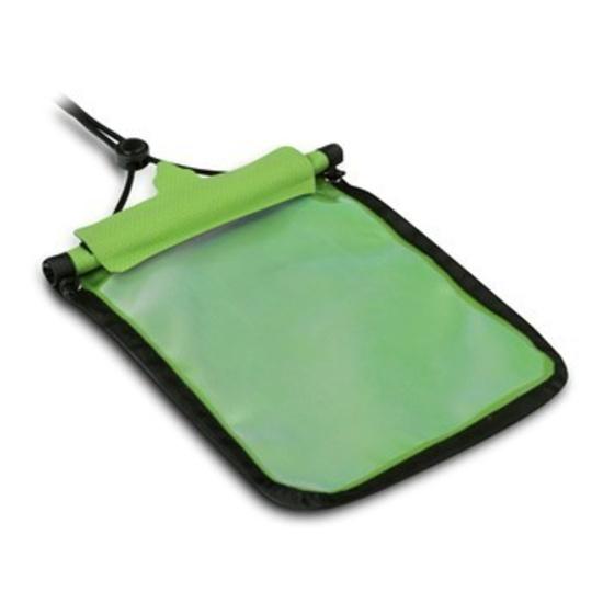 Vodotěsné pouzdro Trimm Passport  barva: zelená