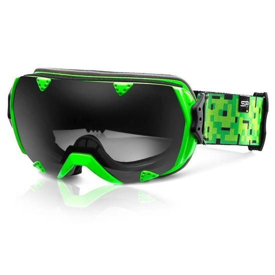 Lyžařské brýle Spokey RED ROCK zelené