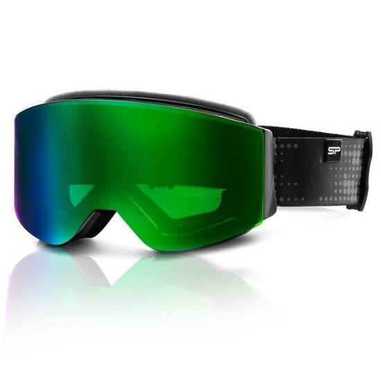 Lyžařské brýle Spokey GRANBY černo-zelené