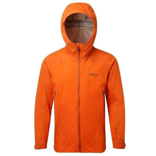 Pánská bunda Rab Alpine jacket firecracker