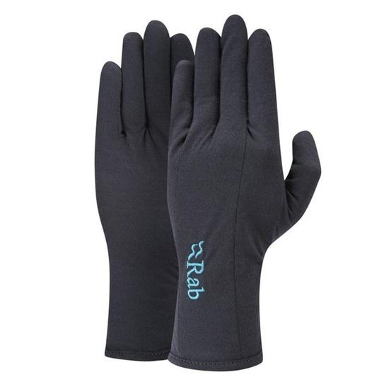 Rukavice Rab Merino+ 160 Glove Women's ebony