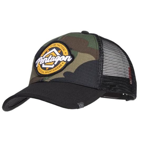 Kšiltovka PENTAGON® Era Trucker Tactical Sportswear US woodland