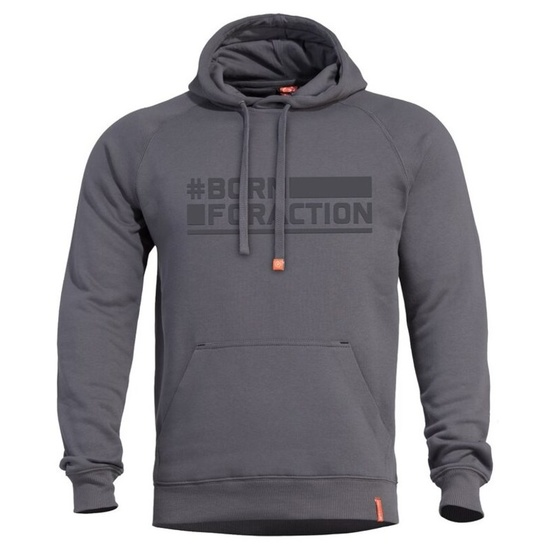 Mikina PENTAGON® Phaeton Born For Action cinder grey
