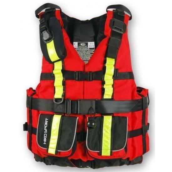 Plovací vesta Hiko sport X-treme Pro 10700  barva: červená