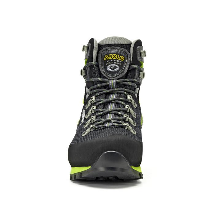 Pánské boty Asolo Corax GV Black/Green Lime/A561