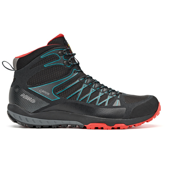 Boty Asolo Grid Mid GV MM black/red/A392