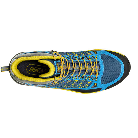 Boty Asolo Grid Mid GV MM indian teal/yellow/A898
