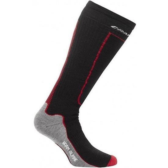 Podkolenky Craft Warm Alpine 1900742-2999 černá-červená barva: černá(2999)