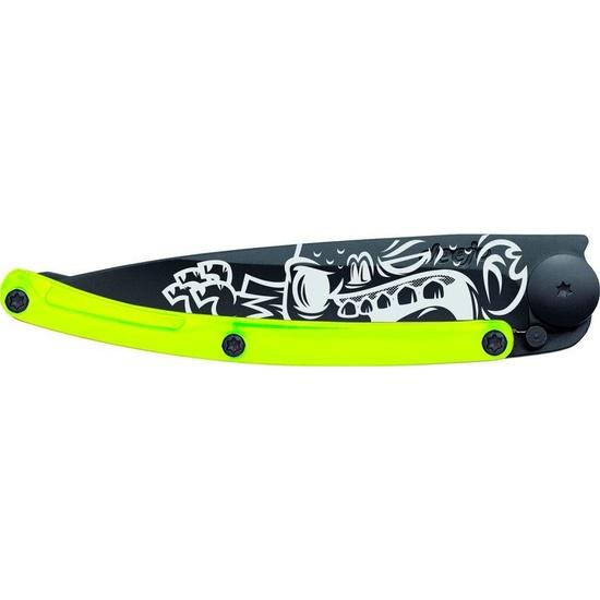 Nůž Deejo STREET Collection, Black 37G, Yellow Zombie 1GB111