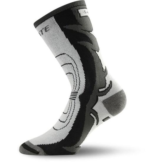 Ponožky Lasting ILC barva-kombinace: šedá/černá
