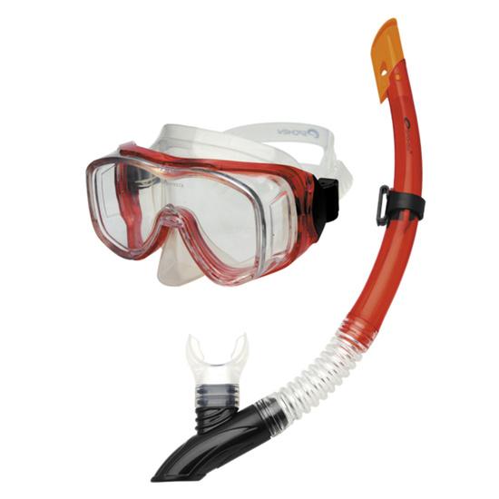 Potápěčská sada Spokey CEFEUSZ barva: červená