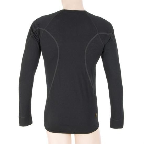 Pánské triko Sensor Merino Wool Active černé 11109033