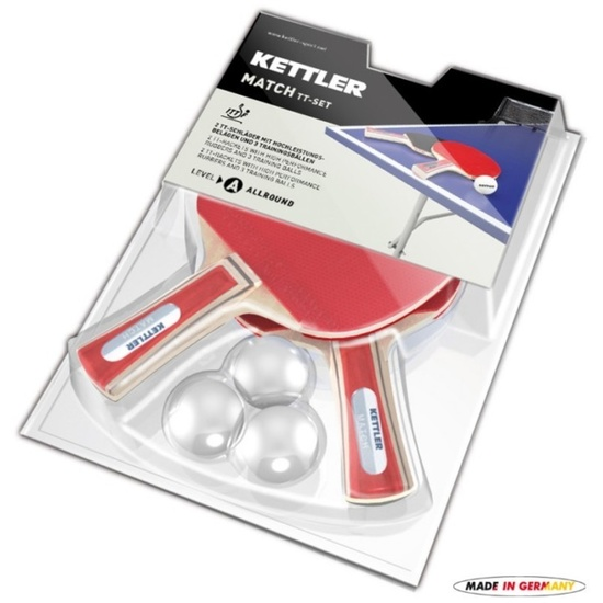 Set pálek na stolní tenis Kettler Match 7091-500