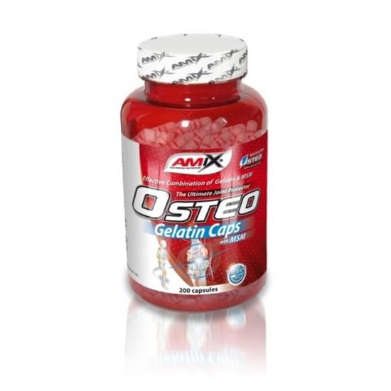 Amix Osteo Gelatin + MSM Caps 200 kapslí