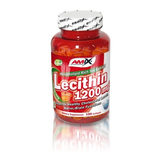 Amix Lecithin 1200mg 100 softgels
