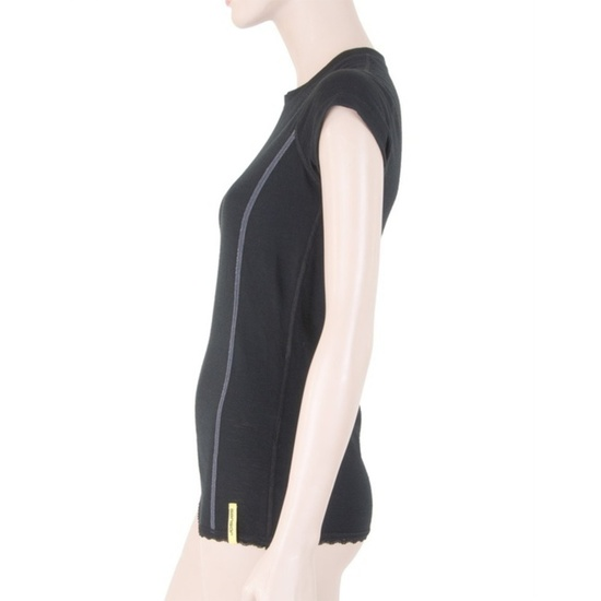 Dámské triko Sensor Merino Wool Active černé 11109026