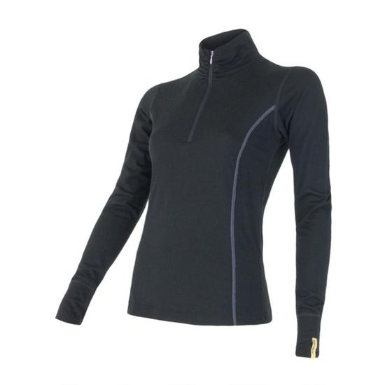 Dámské triko Sensor Merino Wool Active černé 11109018