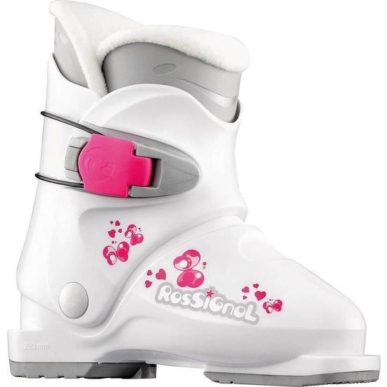 Lyžařské boty Rossignol R18 White RB96030