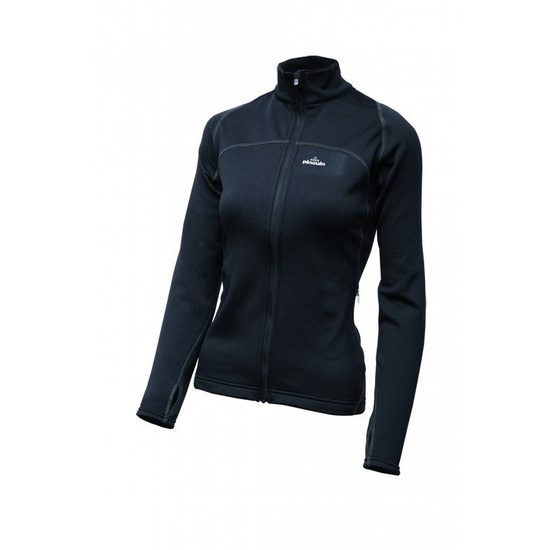 Mikina Pinguin Power Lady Full zip black