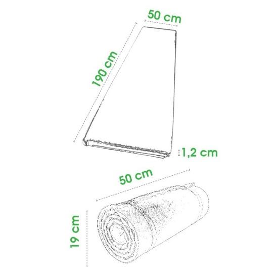 Karimatka Spokey SQUAT dvouvrstvá 1,2mm