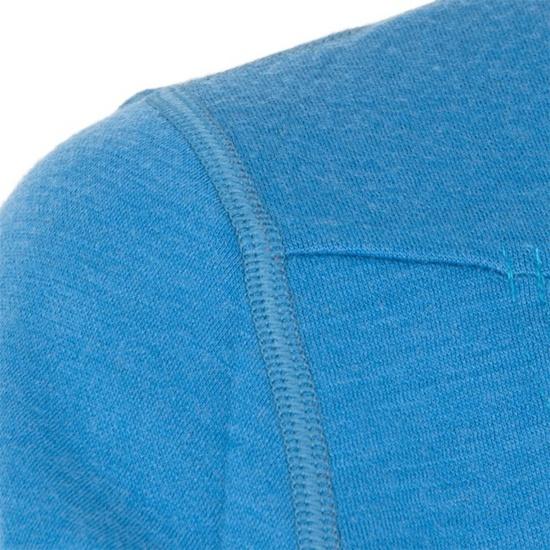 Pánská mikina Sensor Merino Wool Upper modrá 12110043