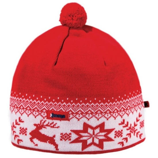 Čepice Kama AW01 104 červená