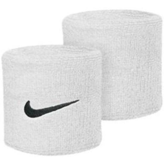 Potítko Nike Swoosh Wristband white