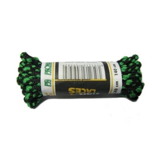 Tkaničky STAR LACES STRONG 120cm barva-kombinace: černá/zelená