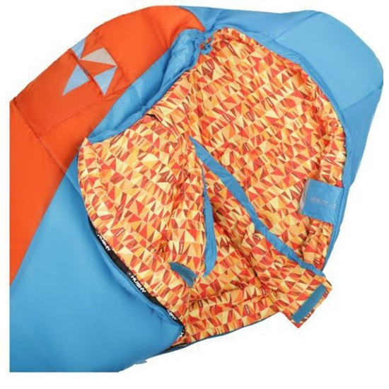 Spací pytel Husky Kids Merlot New -10°C oranžový