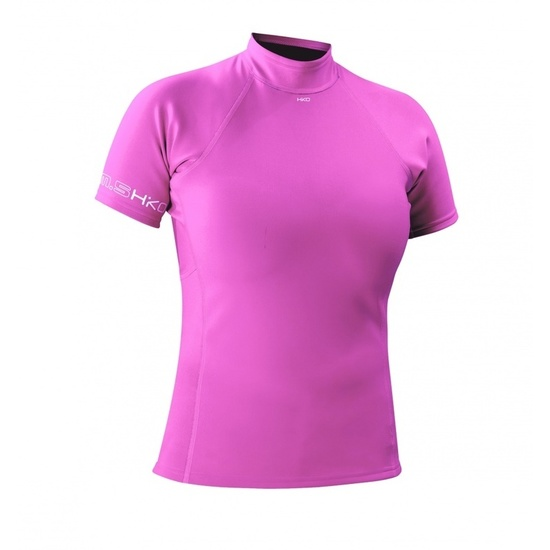 Neoprenové triko Hiko sport Slim.5 W ss 46902 růžové