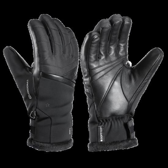 Lyžařské rukavice LEKI Snowfox 3D Lady black