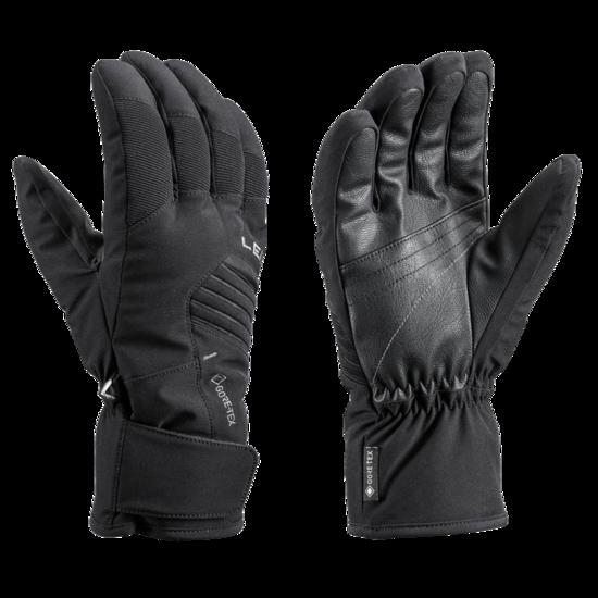 Lyžařské rukavice LEKI Spox GTX black
