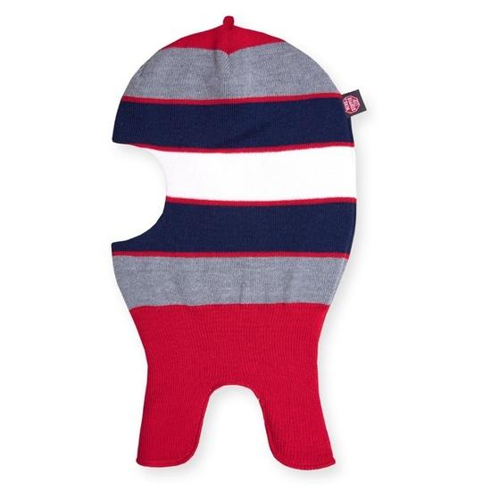 Dětské pletená kukla Kama DB19 104 červená