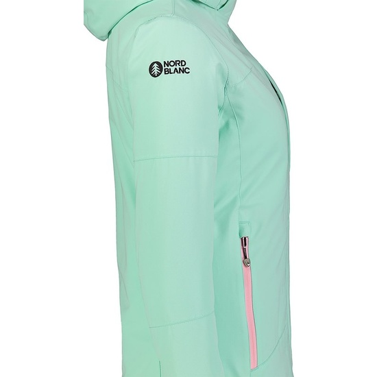 Dámská lyžařská bunda Nordblanc Harsh NBWJL7311_ZEU