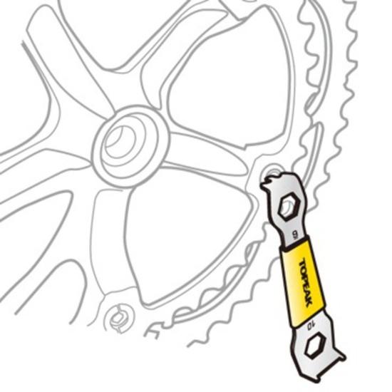Klíč Topeak Chainring Nut Wrench TPS-SP11