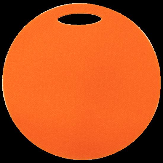 Sedátko Yate kulaté 1 vrstvé průměr 350 mm oranžové