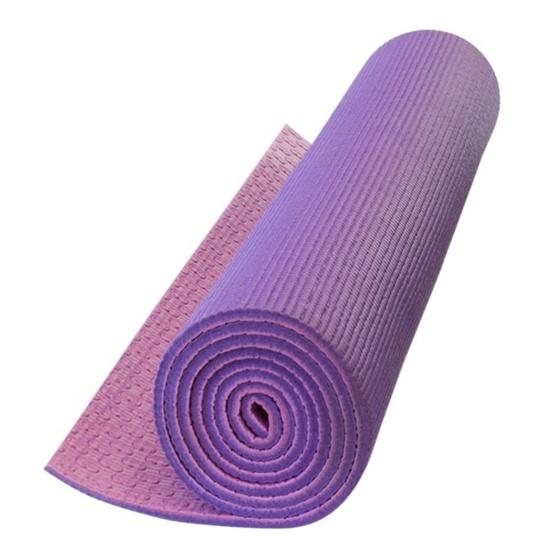 Podložka na jogu Yate YOGA MAT DVOUVRSTVÁ fialová/růžová