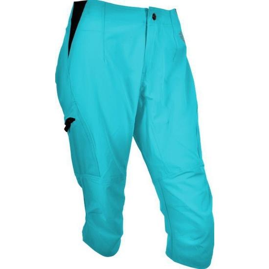 Dámské 3/4 MTB cyklistické kalhoty Silvini Invio WP861 turquoise