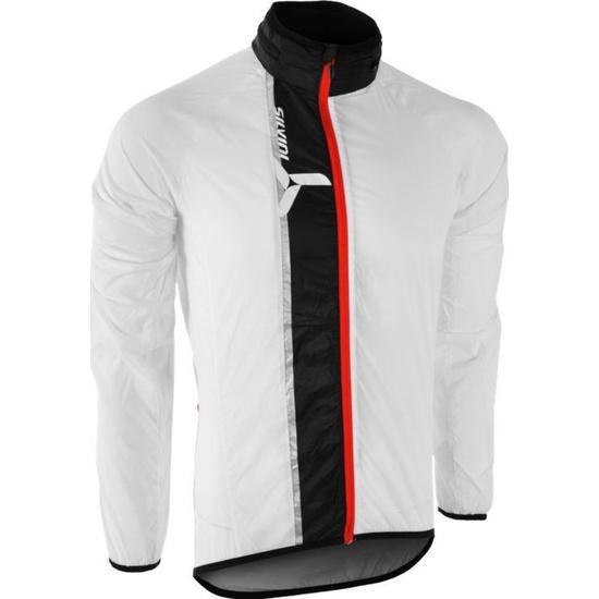 Pánská ultra light bunda Silvini GELA MJ801 white-black