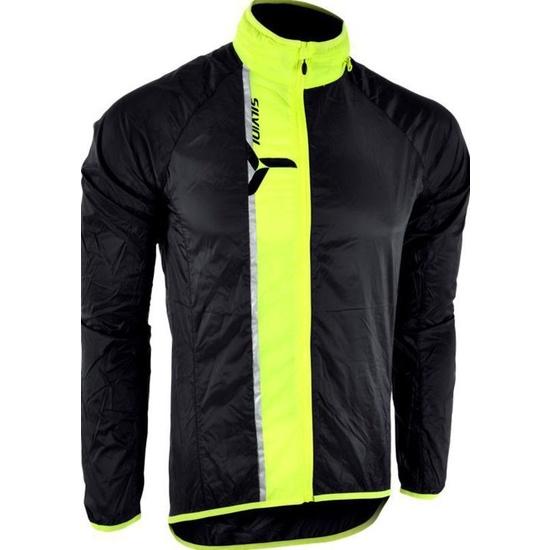 Pánská ultra light bunda Silvini GELA MJ801 black-neon