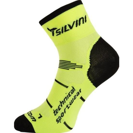 Ponožky Silvini Orato UA445 neon