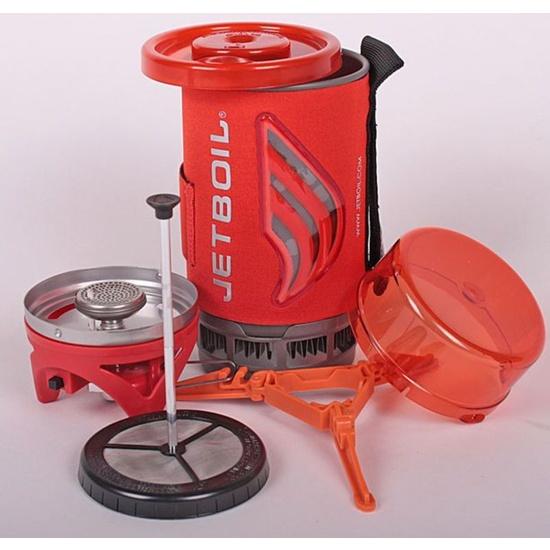 Vařič Jetboil Flash s coffee pressem