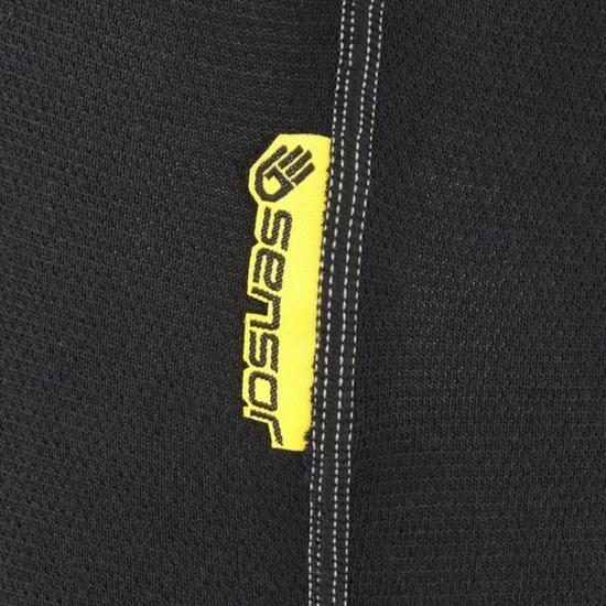 Pánské 3/4 spodky Sensor Double Face černé 1003023-02