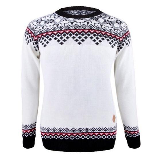Dámský svetr Kama 5006 100 bílý