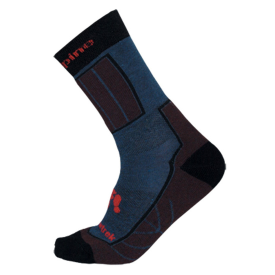 Ponožky Direct Alpine Bormio barva: modrá