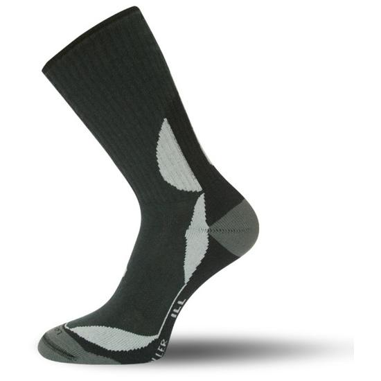 Ponožky Lasting ILL barva: černá