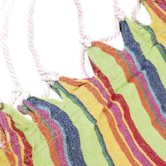 Houpací křeslo Spokey BENCH barevný mix